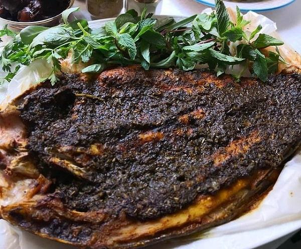 طرز تهیه ماهی با حشو